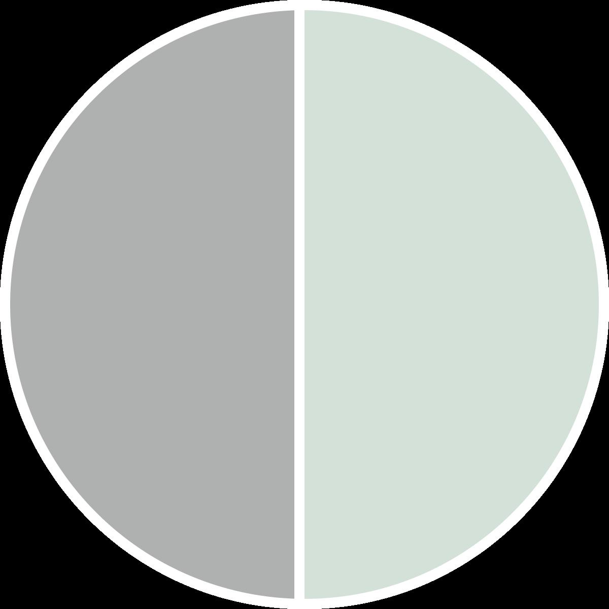 Laurel Grey & Creme de Mint