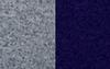 Grey Mélange & Blue Noir
