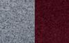Grey Mélange & Maroon