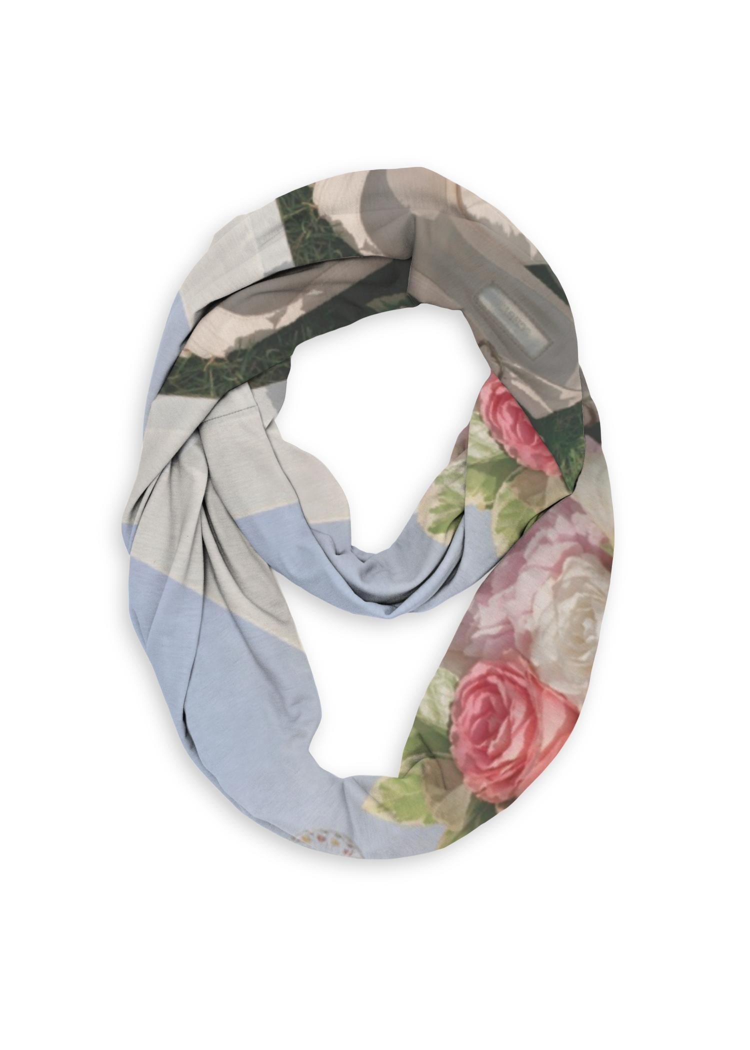 Infinity Eco Scarf - Artwork: Love Santa Monica Pier Designed By: Christine Aka Stine1